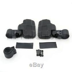 1.75 Breakaway Side & Rear View Mirrors Set for UTV Polaris RZR 900 1000 S 900