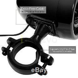 1000W Bluetooth Waterproof ATV UTV RZR Polaris Stereo 4 Speaker Audio Amp System