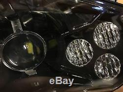 11-14 Polaris Rzr 800 New Black Led Conversion Headlights Kit 900 Xp Style