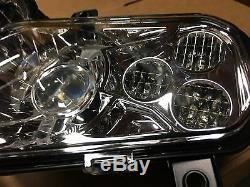 11-14 Polaris Rzr 800 New Led Conversion Headlights Kit / Rzr 900 Xp Style