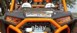 14-18 Polaris Rzr Xp 1000 & Turbo -orange Led Headlights Kit USA