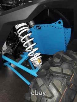 19 sky blue Polaris rzr 1000xp floor guards protector 1000s 900s xpt turbo