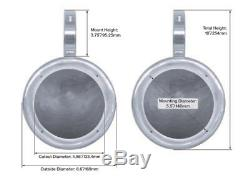 2 Kicker 5.25 450w Rollbar Rollcage Tower Speakers For Polaris RZR/ATV/UTV/Cart