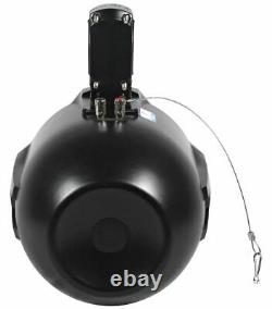 2 Rockville 8 Rollbar Speakers+4-ch Amp+Bluetooth Contol ATV/UTV/RZR/Polaris