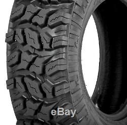 (2) Sedona Coyote 27x9-12 FRONT 6-Ply BIAS All Terrain ATV/UTV Tires 27x9x12