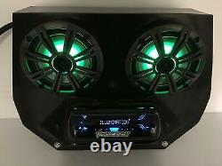 2008-2014 Polaris RZR 570, 800, 900 Radio Stereo Bluetooth 2BBT4RGB + Rear