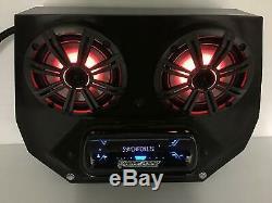 2008-2014 Polaris RZR Razor 570, 800, 900 Radio Stereo Bluetooth UTV 2BBT2RGB