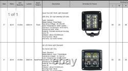 2014-2019 Polaris Rzr 1000 Xp Upgrade To Led Cube Headlights Kit