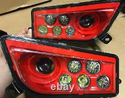 2015-2020 Polaris Rzr 900 & S Red Led Headlights Conversion Kit 1000 S