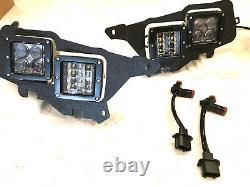 2015-2020 Polaris Rzr 900 & S Upgrade To Led Cube Headlights Kit