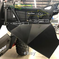 2018-2021 Polaris RZR XP Turbo S Aluminum Lower Doors Inserts Kit US MADE