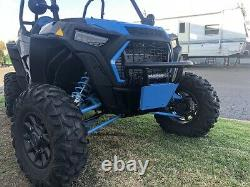 2019-2020 Polaris RZR XP/4 1000 Turbo Front Bumper WithSky Blue Skid US MADE