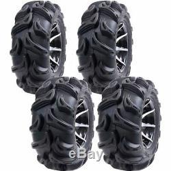 25x8-12 25x10-12 Q750 6-ply Atv / Utv Tires (4 Pack)