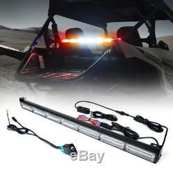 30 UTV LED Strobe Light Bar Rear Chase with Brake Reverse Light for RZR ATV UTV