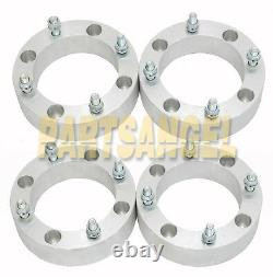 (4) 2 4x156 Wheel Spacers for Polaris RZR XP 1000 Trail 900 S 12mm Stud 4/156