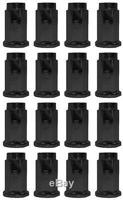 4 ATV/UTV Wheels Set 12in ITP Delta Steel Black 4/156 4+3 POL