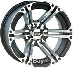4 ATV/UTV Wheels Set 12in ITP SS212 Machined 4/156 4+3 POL