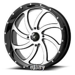 4 ATV/UTV Wheels Set 18in MSA M36 Switch Machined 4/156 0mm POL