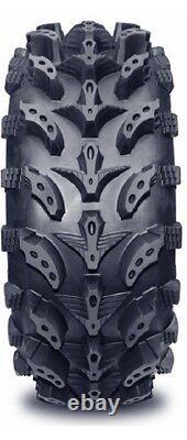 4 Interco Swamp Lite ATV Tires Set 2 Front 27x9-12 & 2 Rear 27x12-12 SwampLite