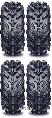4 Interco Swamp Lite ATV Tires Set 2 Front 28x9-14 & 2 Rear 28x11-14 SwampLite