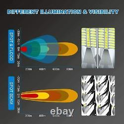 52 Led Light Bar For Polaris Ranger XP 900 1000 Full Size 22 Bumer +Wiring Kit
