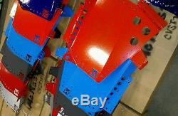 Aluminum red Polaris rzr 1000xp floor guards turbo 1000s 900s xpt xp1000 trail