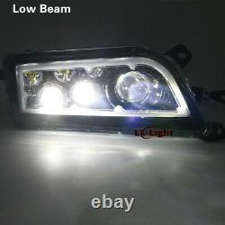 Auto Accessories ATV Black LED CREE Headlights kit for Polaris RZR 900 XP 1000