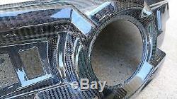 BLK Carbon Fiber Dash Upgrade FITS POLARIS UTV RZR 1000 XP 1000 XP4 Turbo 14-16
