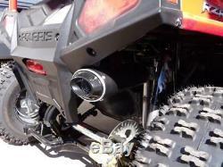 Big Gun EVO U Slip On Exhaust for Polaris RZR 170 2009-2016 UTV 12-7172