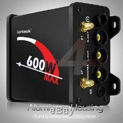 Bluetooth ATV UTV RZR Polaris Stereo Marine Speakers Audio 600W Amp Radio System