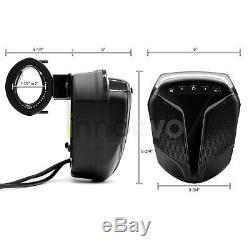 Bluetooth Waterproof ATV UTV RZR Polaris Speakers Stereo Audio Amp System Radio