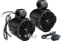 Boss Audio 750w 6.5 Amp Bluetooth Roll Cage 2-way Speakers B62abt All Utv's