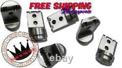 Crown MFG Polaris RZR 1000 1K 900 1 3/4 Roll Cage Connectors Adapters Bungs