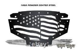 Custom Grill Steel Grille AMERICAN FLAG for 2011-2014 RZR900 Polaris RZR 800/900