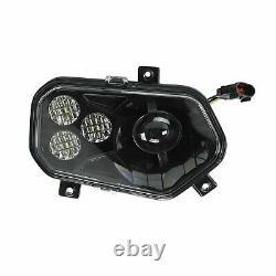 For 11-14 Polaris Rzr 800 900 Xp Black Led Conversion Headlights Kit Style New
