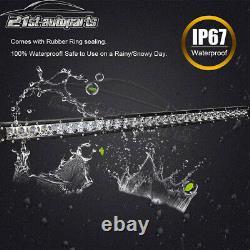 For Polaris RZR 1000 900 XP Roof 31 LED Bar+Back Up Lower Light Pod Bracket Kit