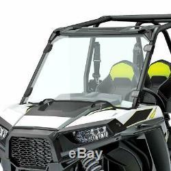 For Polaris RZR 1000 XP 4 1000 2014-18 1/4 Thick UTV Full Windshield Windscreen