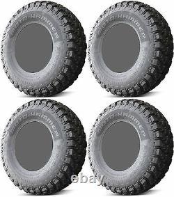 Four 4 EFX MotoHammer ATV Tires Set 2 Front 27x9-14 & 2 Rear 27x11-14 DOT RADIAL