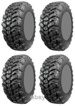Four 4 Interco Sniper 920 ATV Tires Set 2 Front 27x9-14 & 2 Rear 27x11-14