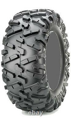 Four 4 Maxxis Bighorn 2.0 ATV Tires Set 2 Front 25x8-12 & 2 Rear 25x10-12