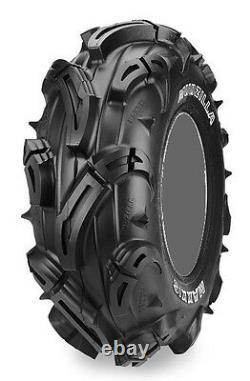Four 4 Maxxis Mudzilla ATV Tires Set 2 Front 27x9-12 & 2 Rear 27x12-12