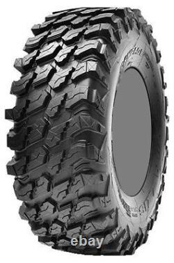 Four 4 Maxxis Rampage ATV Tires Set 2 Front 30x10-14 & 2 Rear 30x10-14