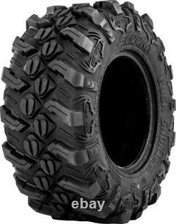 Four 4 Sedona Buck Snort ATV Tires Set 2 Front 25x8-12 & 2 Rear 25x10-12
