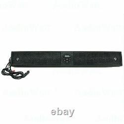 Gravity 600W 35 Sound Bar 8 Speaker Bluetooth Marine Polaris/ATV/UTV/RZR System