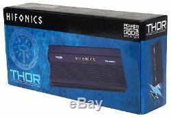 Hifonics TPS-A600.5 600w 5-Channel Marine Amplifier For Polaris RZR/ATV/UTV/Cart