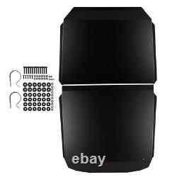 KEMIMOTO UTV Aluminum Roof Black for Polaris RZR XP 4 1000 /TURBO /900 2014-2021