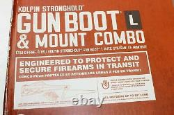 Kolpin Gun Scabbard Rifle Case Holder Boot Universal Fits ATV UTV Mount Bracket