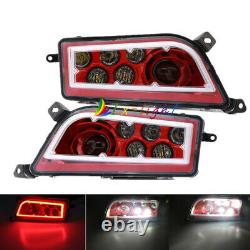 Led Headlights Red Angle Eye Conversion for 2015-20 Polaris RZR 900 S & 1000 XP