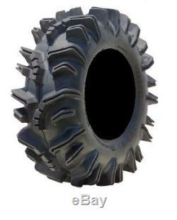 MSA Black Diesel 14 UTV Wheels 32 Terminator Tires Polaris RZR 1000 XP
