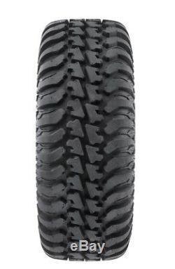 MSA Black Diesel 15 UTV Wheels 30 Regulator Tires Polaris RZR 1000 XP